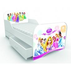 Детская кровать для девочки Принцессы
