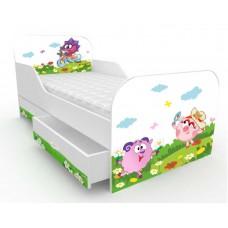 Детская кровать  Смешарики