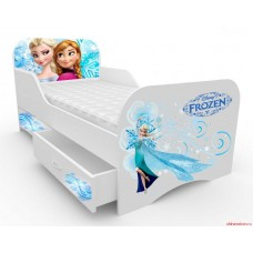Детская кровать для девочки Холодное сердце