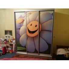 Шкаф купе в детскую с фотопринтом