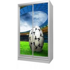 Шкаф купе в детскую с фотопринтом Футбол