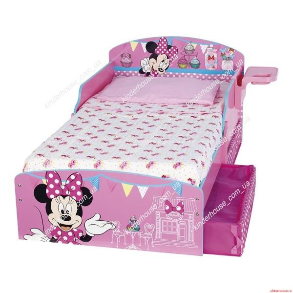 Кровать для девочки Minnie Mouse -4