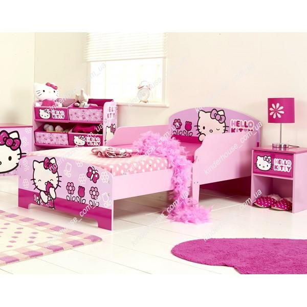 Кровать для девочки Хелло Китти - 1