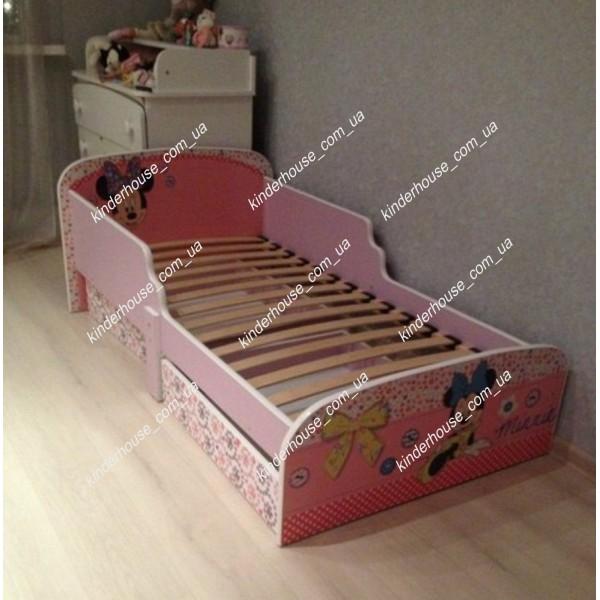 Кровать для девочки Минни